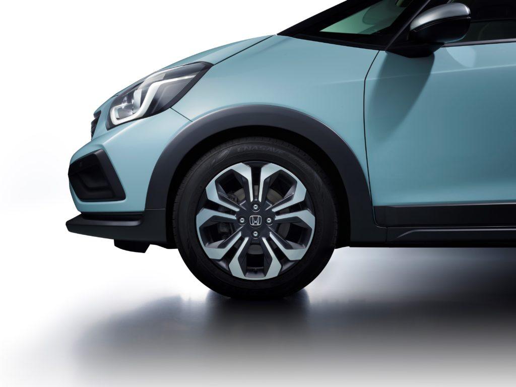 Honda Jazz Crosstar Front Wheel Detail