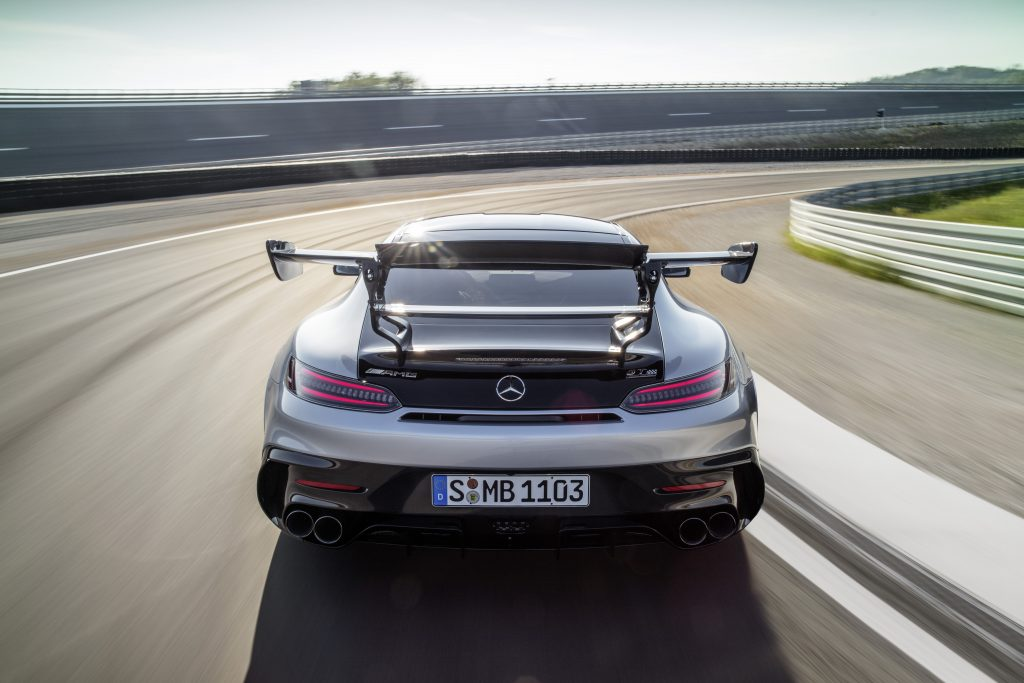 Die absolute Spitze der GT-Familie: Der neue Mercedes-AMG GT Black SeriesThe absolute pinnacle of the AMG GT family: The new Mercedes-AMG GT Black Series
